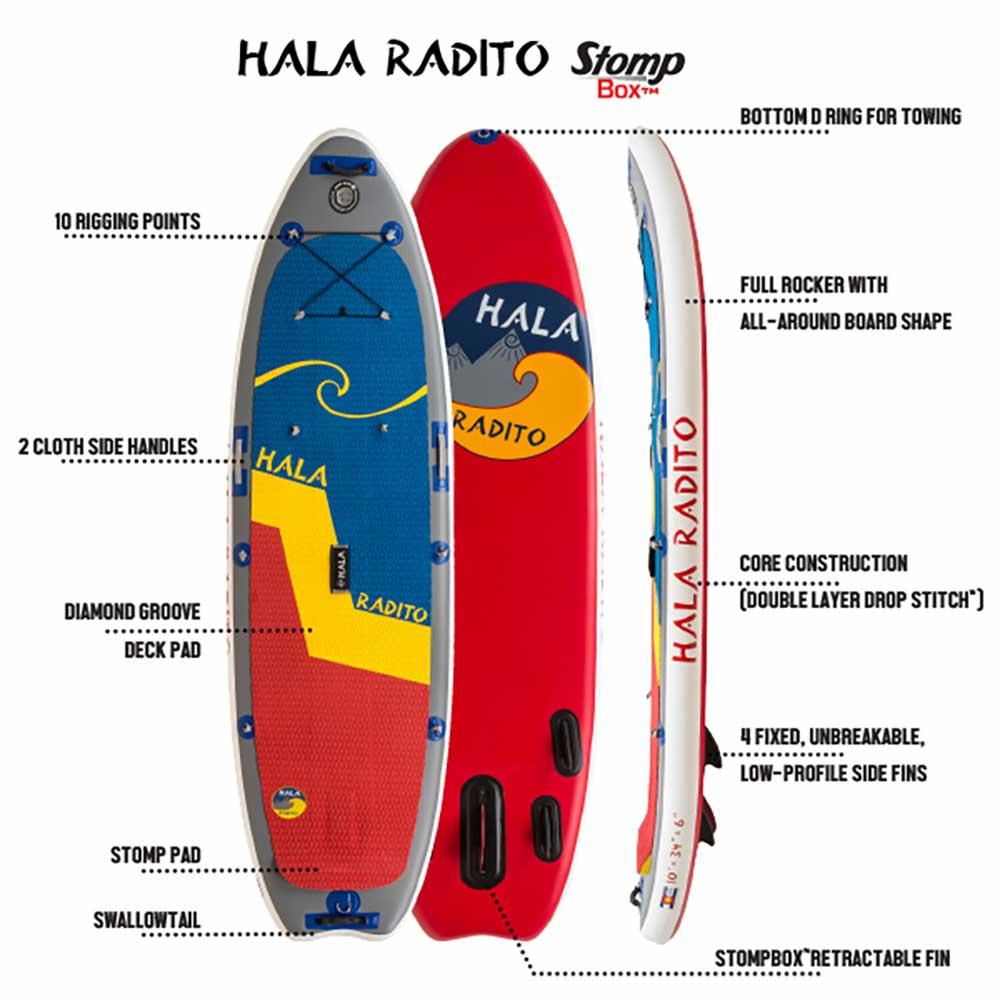 Whitewater Kayaks For Sale >> Hala Radito SUP Board